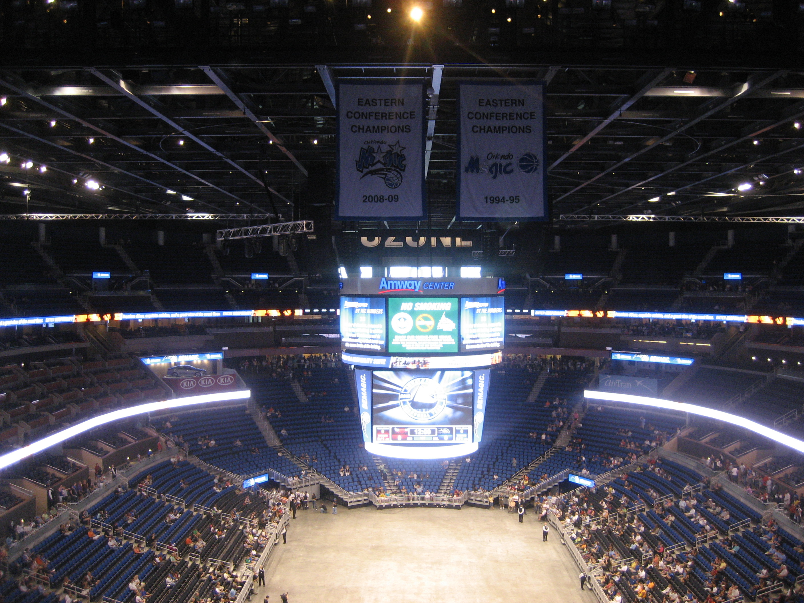 The new amway center my real estate orlando for Mercedes benz lounge amway center